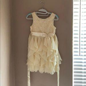 Creme Church dress